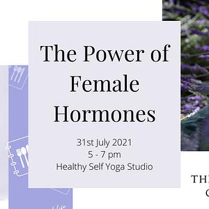 The Power of Female Hormones Workshop